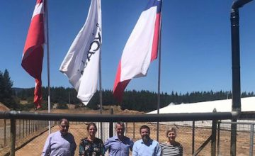 New Danish Ambassador in Chile visits Coexca's facilities and projects