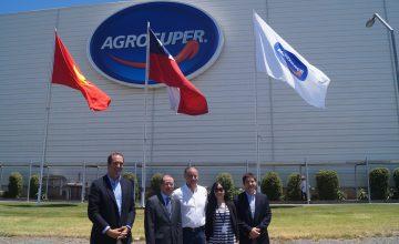 Embajada de Vietnam visita Planta de Agrosuper en Rosario
