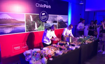 ChilePork held a fun event in China
