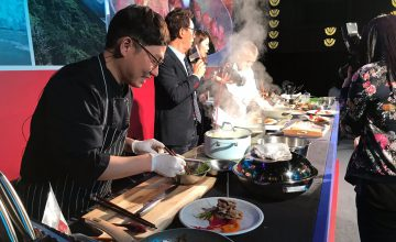 ChilePork surprised Korea with a fantastic Cooking Show