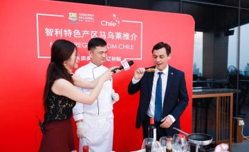 Pork and other food products from the Chilean Maule Region shined at successful exporting event in China